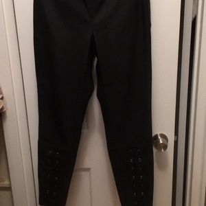 Zara Leather Pants Medium